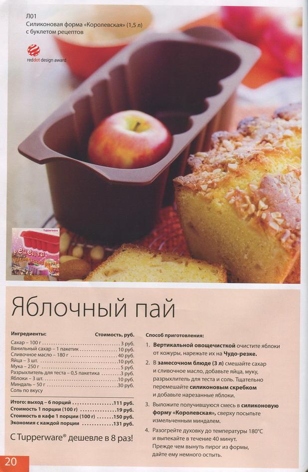 Рецепты для маленьких формочек